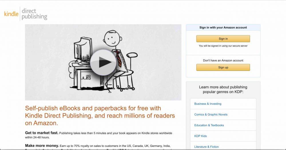 kindle self-publishing make money for travel