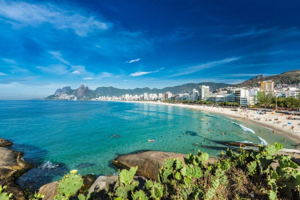morning-panorama-of-ipanema-beach-in-rio-de-janeiro | things to do in rio de janeiro