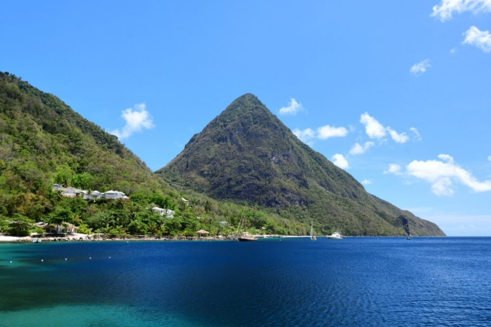 piton-mountains | things to do in st. lucia