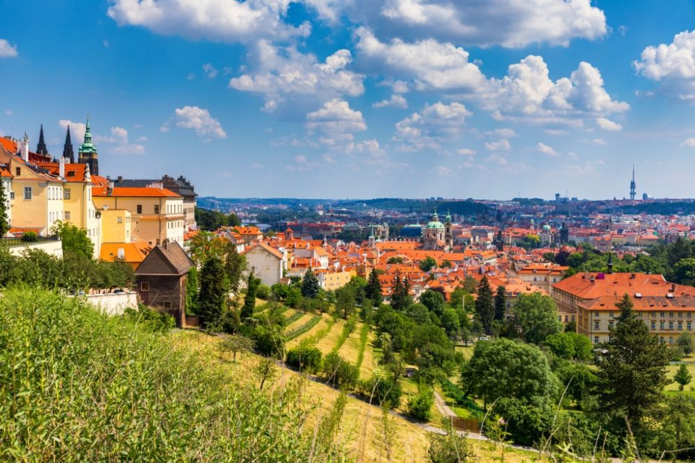 prague-castle-and-lesser-town-panorama-view-from-petrin-hill-prague | things to do in prague